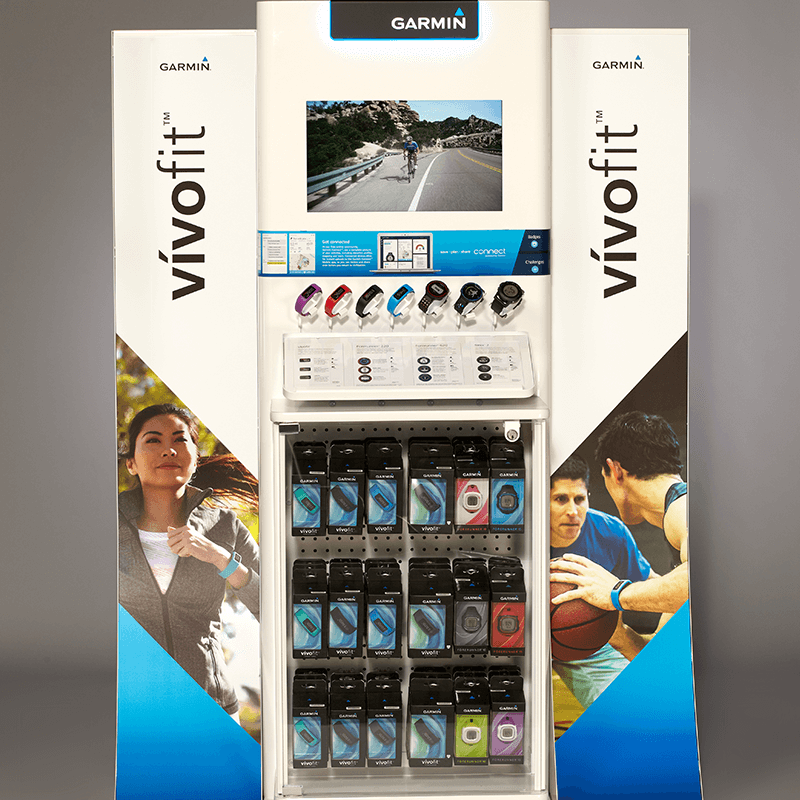 Garmin vivofit Freestanding Display » Process Retail Group